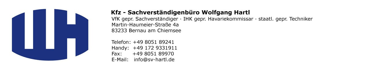 KFZ-Sachverständigenbüro Wolfgang Hartl
